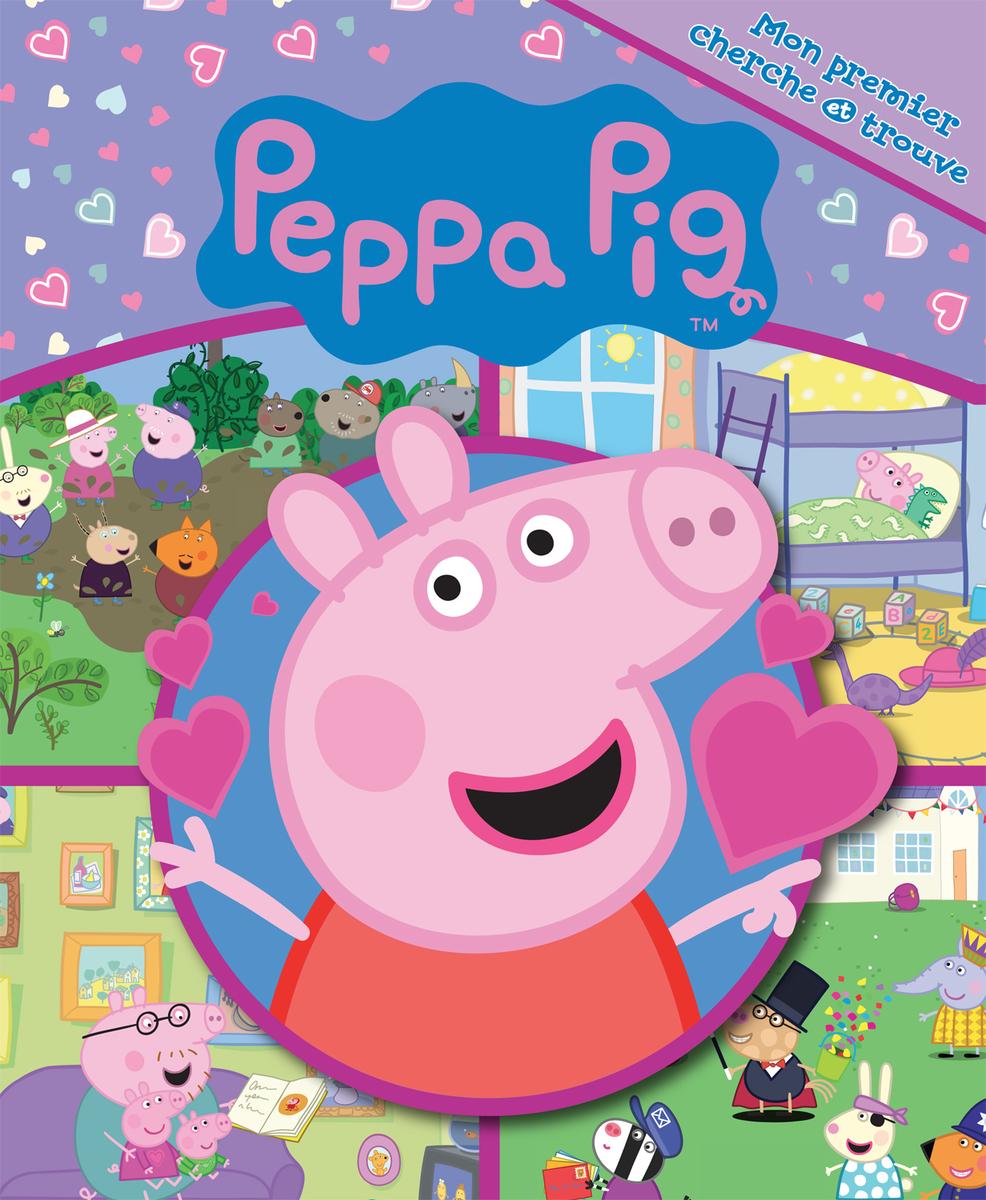 Mon premier cherche et trouve peppa pig - Fauteuil peppa pig jouet club ...