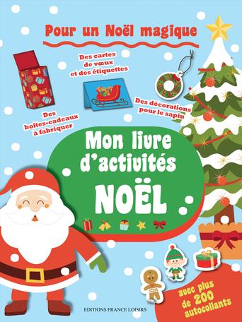 Mon Livre D Activites Noel