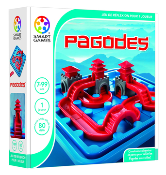 Vente  Pagodes  - SMART GAMES