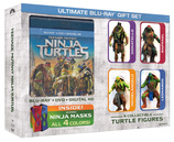 Vente  Coffret Les Tortues Ninja + 4 figurines