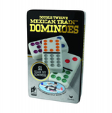 Vente  Jeu dominos doubles 12 trains mexicains