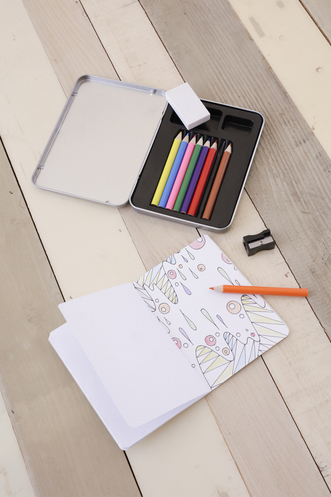 Vente  MINI KIT DE COLORIAGE