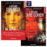 Vente  L'Affaire Eva Beck + L'Affaire Léane Cohen  - Julie Rivard
