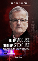 Vente  Qu'on accuse ou qu'on s'excuse  - Guy Ouellette