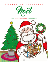 Vente  Noël - 100 illustrations à colorier