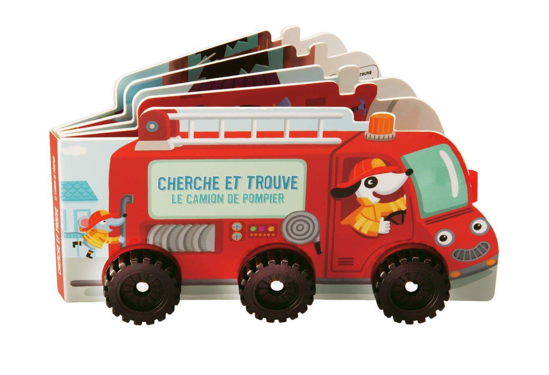 cherche et trouve la voiture de pompier. Black Bedroom Furniture Sets. Home Design Ideas